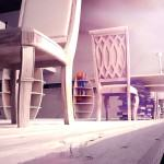 Визуализация на Интериор за библиотека