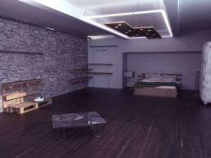 Визуализация на квартира 1