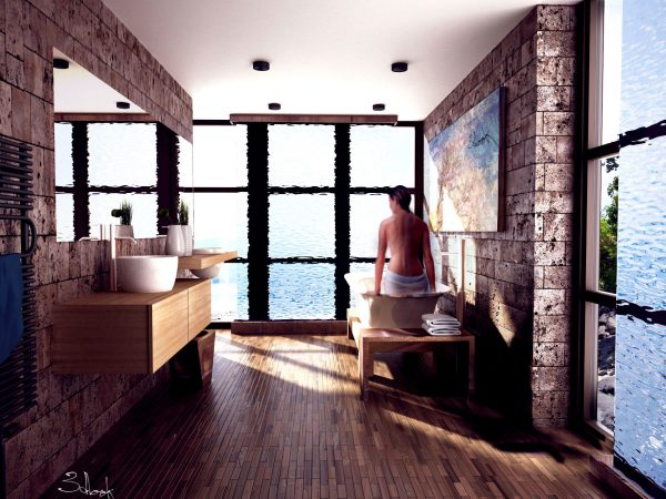 Визуализация на баня