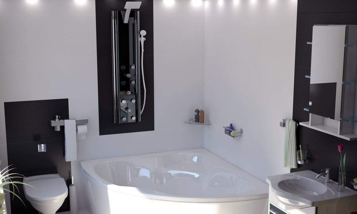 Поглед към ваната и санитарният възел