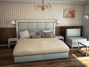Интериор на хотелска стая