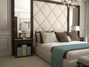 interior hotel bedroom