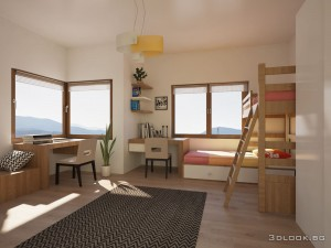 interior design of kids room