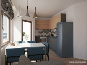 interior design of kitchen