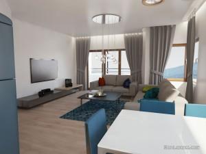 interior design of livingroom
